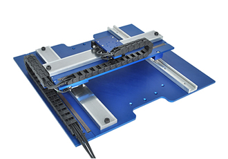 Dual Axis Closed Loop Linear Stepper Stage