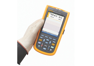 Fluke ScopeMeter 120B Series simplifies and speeds electro-mechanical troubleshooting