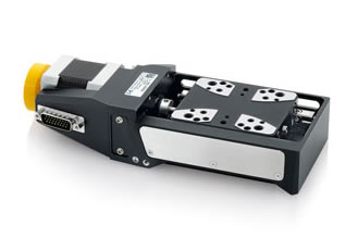 Affordable high precision compact linear positioning stage