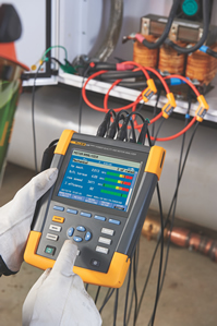 Analyser measures power and motor performance
