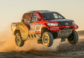 Edgecam Helps Toyota Motorsport Push  Limits For Dakar Rally