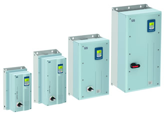IP55-rated variable speed drive enclosures