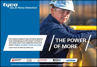 Tyco Launches New Gas and Flame Detection Brand