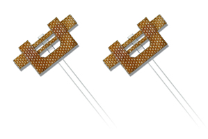 Wire strain gauges handle high-temperature environments