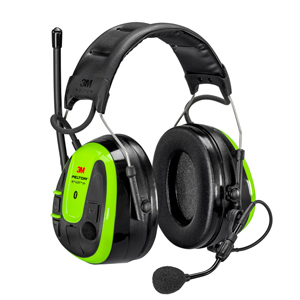 Hearing protection headset becomes communication hub