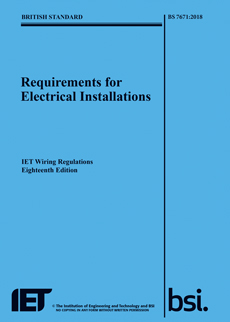 18th Wiring regulations edition highlights important changes
