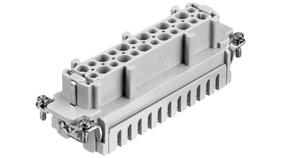 Heavy-duty connectors meet all industry standards