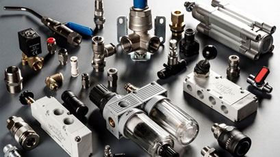 Pneumatic components range pumped up at RS Pro