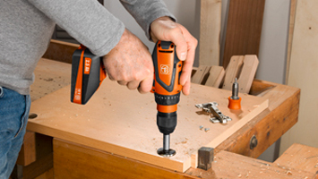 Cordless drill weighs just 1.7kg