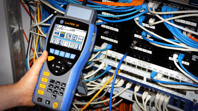 Software update enhances cable certifier
