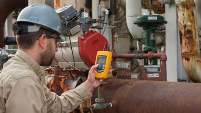 Loop valve tester speeds up measurement readings