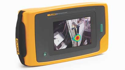 Sonic industrial imager expedites air leak detection