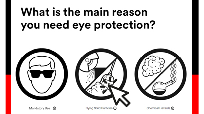 Online tool aids eye protection choice