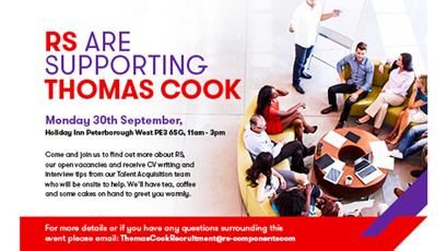 RS stages event to aid Thomas Cook employees