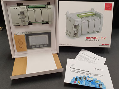 PLC starter kits reduce development time