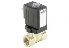 Solenoid valve tackles dezincification and water hammer