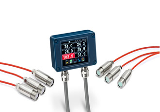 New Pyrometer System from Calex Simplifies Multi-Point Temperature Monitoring