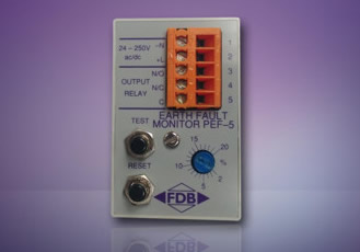 Pef-5 Percentage Earth Fault Protection Unit From FDB Electrical