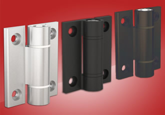 72 Series Aluminium Spring Hinges From FDB With Friction Or Detent Design
