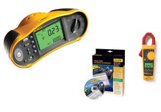 Fluke offers Installation Testers with FREE Current Clamp  and data management software