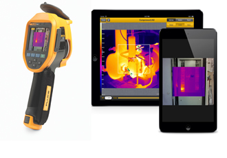 Fluke offers thermal imaging cameras with a free Apple iPad, and DMMs with free accessories