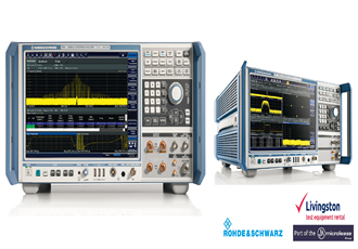 Signal & spectrum analyser offers copious analysis bandwidth