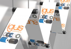 New xiros film guide roller for labelling technology