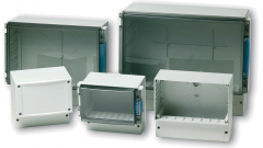 Thermoplastic enclosures protect critical circuitry