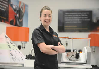 Renishaw engineer honoured at national Young Woman Engineer of the Year awards