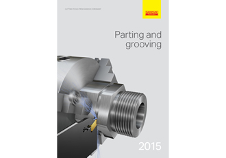 Sandvik Coromant catalogue simplifies tool and accessory selection for parting and grooving