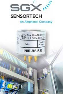 INIR gas sensors are suitable for R32/R290 refrigerants