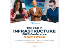 Year in Infrastructure 2020 Conference goes digital