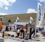 Hillhead 2012 was bigger & better for Kingfisher!