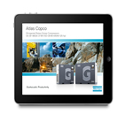 Atlas Copco Compressors releases its first ever iLeaflet for tablet and PC