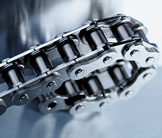 Anti-backbend chains for medical applications