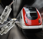 Pressure transducers for railway applications