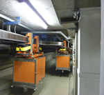 Bauer geared motors power underground monorail at one of Europe's largest hospitals