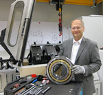 New bearing test rig for medium sized bearings at NKE Austria