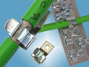 Clamps & Fixings for EMC Shielded Cables
