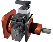 Gearboxes extend range for spindle drives