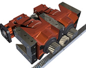 Rack and Pinion servo drive systems offers Turnkey Solution