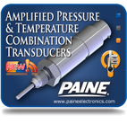New Amplified Pressure & Temperature Combination Transducer Series