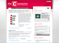 Connector.com from Molex Provides Design Engineers with Instant Access to News and Events from electronica 2010
