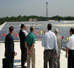 NewAge® Industries Lights Up Rooftop - Congressman Mike Fitzpatrick Praises Company's Successes